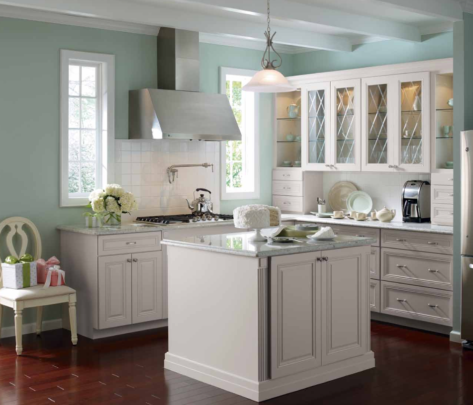 Light Gray Kitchen Walls white kitchen cabinets with light gray walls - monsterlune